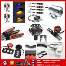 High quality motorcycle hid headlight/tail light with best price for sale