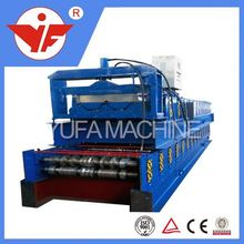 Best quality with CE certificate steel double layer wheel barrow advanced purlin machine