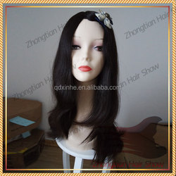 Best Selling European Remy Hair Extra Long Straight Kosher Wig WIth Lace Front