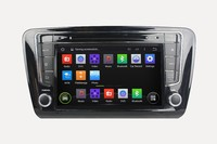 A9 Quad Core Android 4.4 Auto Radio Car Dvd For SKODA OCTAVIA 2014 Capacitive Touch Screen Obd Dvr Mirror Link
