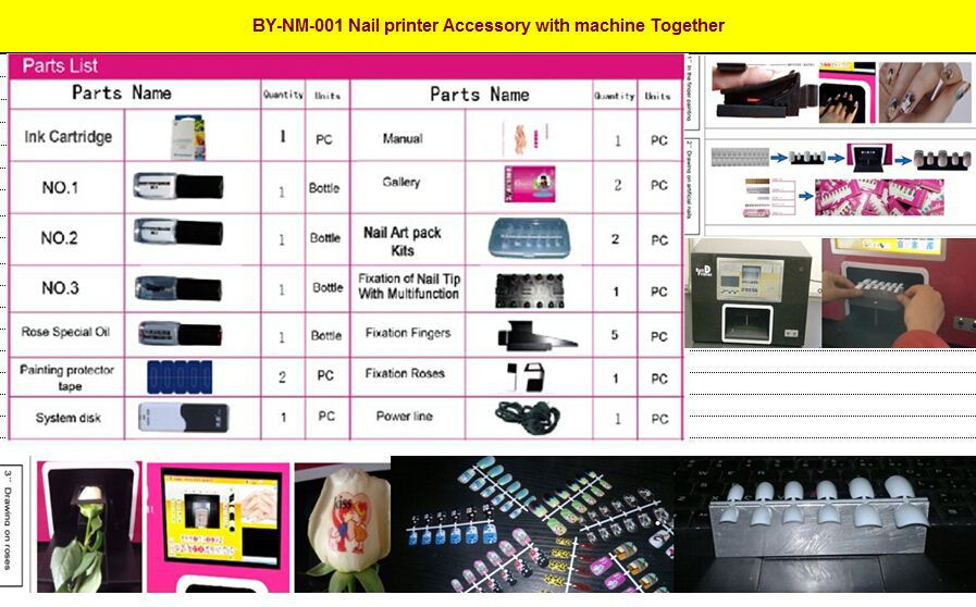 By-nm-001 Nail Printer Nail Art Machine - Buy Nail Art Machine,Nail ...