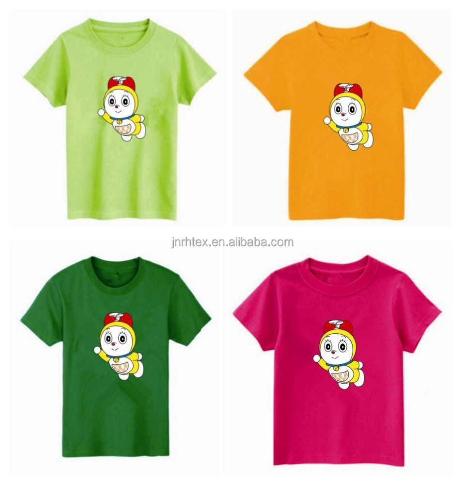 Very nice t shirts with cartoon print custom plain t for Very cheap t shirts