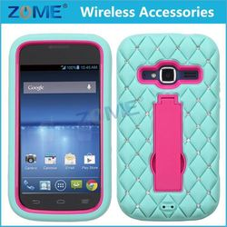 hotsell cell phone cases and accessories for ZTE Z730 /Concord special phone Hybrid Armor Case with Diamonds