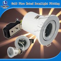 fire rated GU10 fitting downlight LED spotlight fixture