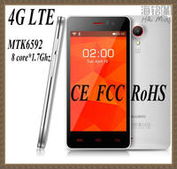 professional factory OEM order 4.5 inch 4G lte smart phone MTK6582 quad core high quality CE ROHS approved model LTE48