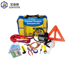 2015 new 36pieces Roadside car emergency kit /emergency tools for car maintenance