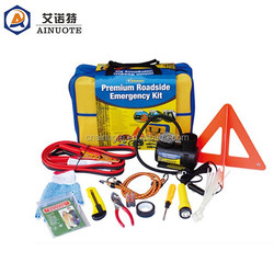 Premium car roadside emergency tools kit