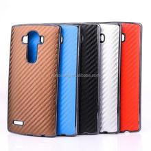 for LG G4 Fiber carbon case phone cover, for LG G4 Fiber hard shell case