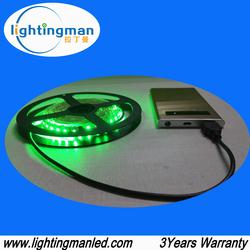 digital addressable DC5v 5050rgb professional led strip lighting, ws2812b, ip67 waterproof, 10mm pcb, 30-60ic/m, CE RoHs