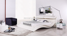living room furniture white simple leather bed on sale