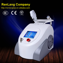 2 in 1 ipl+rf laser di rimozione facciale dei capelli/rimozione dei capelli di ipl/effetti collaterali rimozione dei capelli di ipl