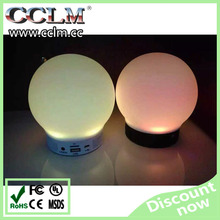 2015 Christmas day Cheapest woofer bluetooth speakers with led light