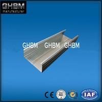 2015 HOT!!!Galvanized light steel keel/C channel galvanized, U profile for ceiling