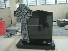 European Style Celtic Cross Granite Headstone