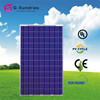 CE Rohs polycrystalline 240w high efficient pv solar panel