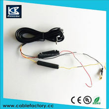 Shenzhen factory wireless cable tv transmitter European ac dc power cable for electronic products
