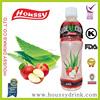 06 Houssy Aloe Drink with Real Pulp Aloe Vera Juice China Export Product