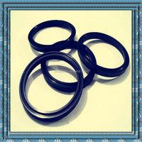 black polyurethane rubber rotary shaft lip seal
