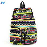 New Fashion Women Vintage Style Casual Canvas Sports School Bag Backpack