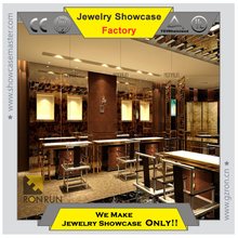 Chinese style wooden Jewelry display stand counter showcase for jewelry store Jewelry store whole professional design