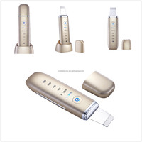 CosBeauty CB-015 220,0000 times oscillation / second rechargebale portable high frequency facial ultrasonic skin scrubber