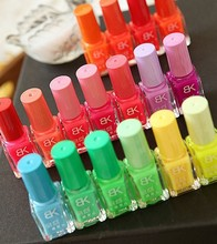 Luminous Nail Polish Candy-color Quick Dry Fluorescence 18 Colors BK Beauty Makeup Tool