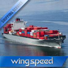 International freight forwarding for container sea shipping service