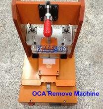 Touch Screen OCA LOCA Optical Clear Adhesive Remove Machine Cleaning Equipment Device for iPhone 4/4s/5