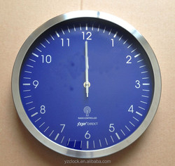 hot selling 12 inch stainless steel DCF Radio controlled wall clock