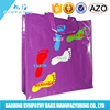 Promotional wholesale laminated cloth fashion cheap shopping bag
