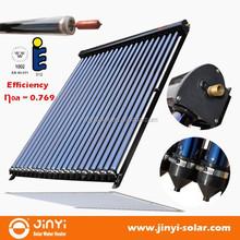 EN12975 Solar Keymark Heat Pipe Evacuated Tube Solar Collector, Solar Thermal Collector, Vacuum Solar Collector China