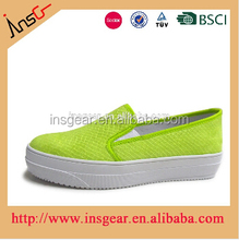 insgear china shoes factory famous brand women canvas sneakers