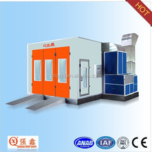 international standard car paint booth(infrared heating ,manufacturer)