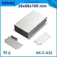Hot selling aluminium meter box 26x66x100mm
