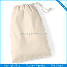 Super quality design promotion drawstring cotton bag for mobile phone