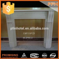 high quality well fireplace mantel