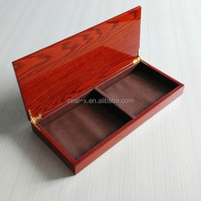 Top grade High quality packaging factory do glossy custom wooden box