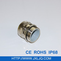Brass material metric Thread cable gland M25 with waterproof IP68
