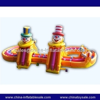 Attractive inflatable playground,large inflatable fun city,inflatable slide obstacle combo