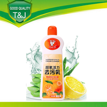 2015 High Quality and Efficient multi-purpose Kitchen Cookware Cleaning Liquid Detergent/ cream cleaner