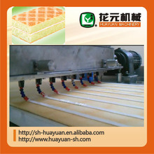 filled cream or nut layer cake production line