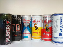 250ml Carbonated Nutritional Energy drink