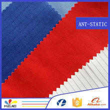 Cotton Polyester flame retardant antistatic fabric for workwear