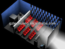 Home theater 9D cinema electrical/hydraulic new system for action movies Guangzhou factory