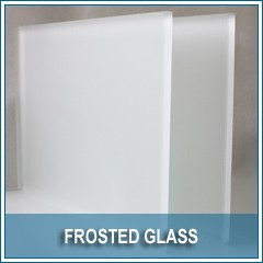 FROSTED CLEAR GLASS