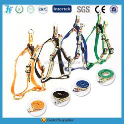 pet supplies wholesale Beautiful comfortable dog harness dog leash