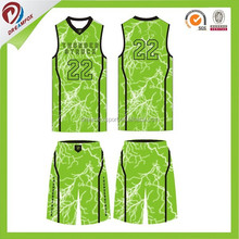 high quality custom short sleeve basketball jersey design