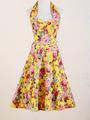 años 50 moda 50s vestido de estilo fiesta rockabilly ropa mujer curto formatura novias vestidos vintage falda acampanada