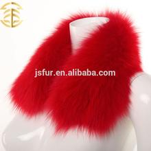 genuíno arctic fox fur colarinho cor distinta padrões aumentar trincheira casaco ou jaqueta de mulheres de pele dos homens