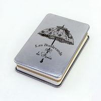 LANGUO cheap journals notebooks/metal cover notebooks model:LGLL-2835
